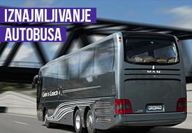 Iznajmljivanje autobusa za izlete