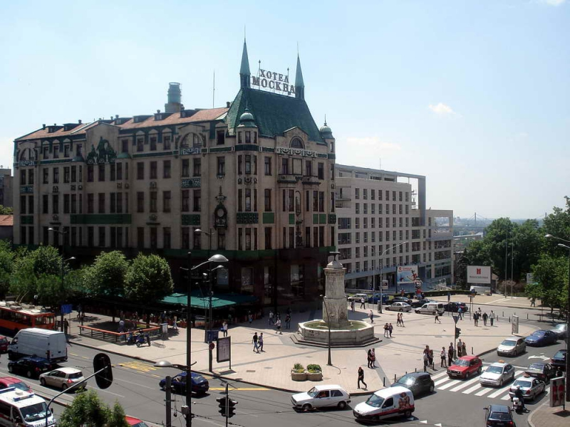 Belgrade tour, Terazije square