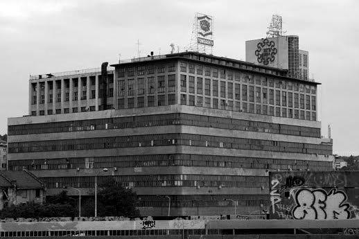 Belgrade tour, BIGZ building