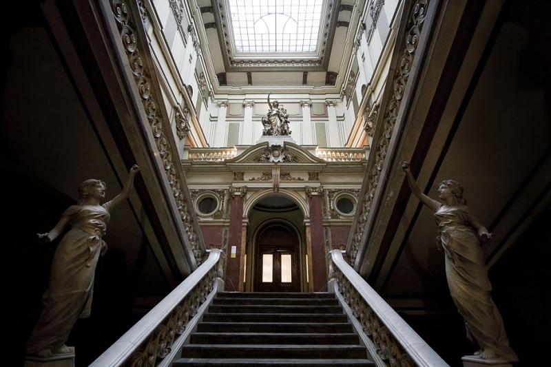 Belgrade tour, Geozavod interior
