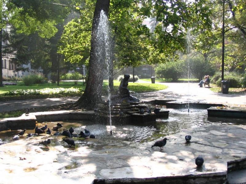 Belgrade tour, Pioneer Park