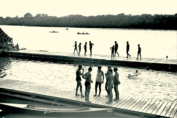 Belgrade tour, historical swimming area