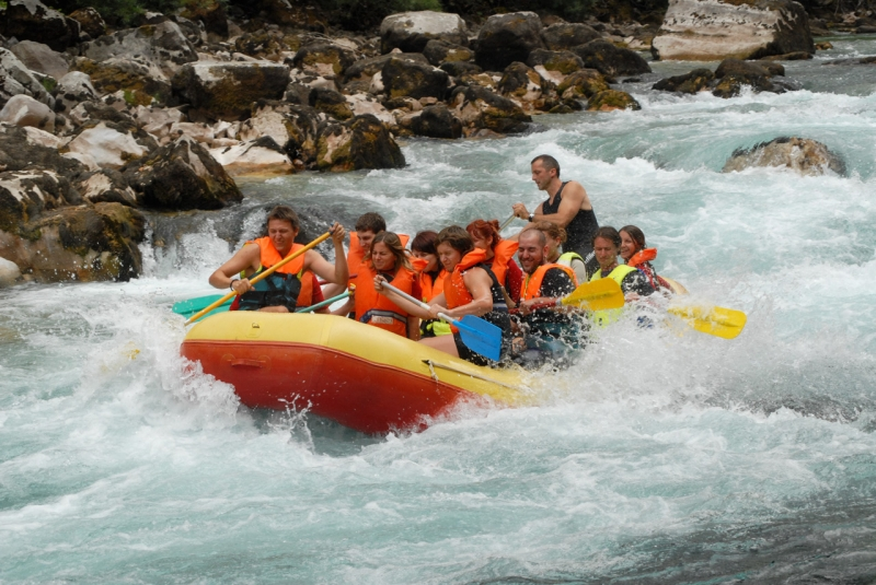 Serbia River for Rafting