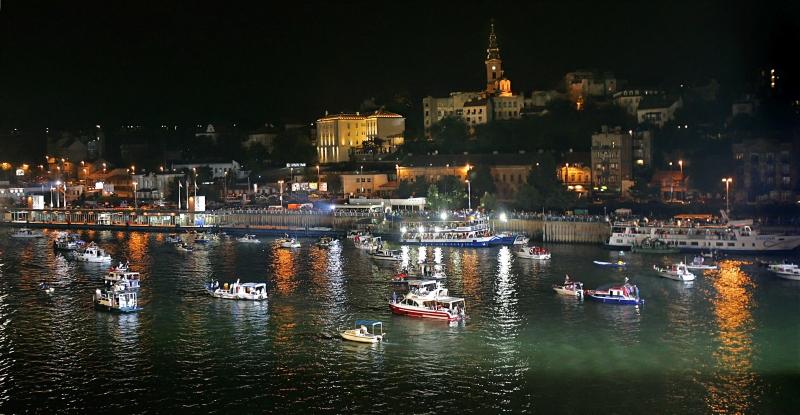 belgrade boat carneval